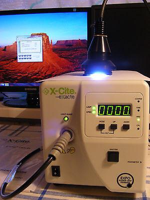 Exfo X-cite 200w Fluorescent Illumination System Olympus Nikon Zeiss Microscope