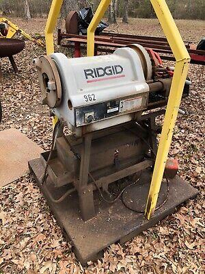 Ridgid Model 1224 12 Inch - 4 Inch Power Pipe Threading Machine