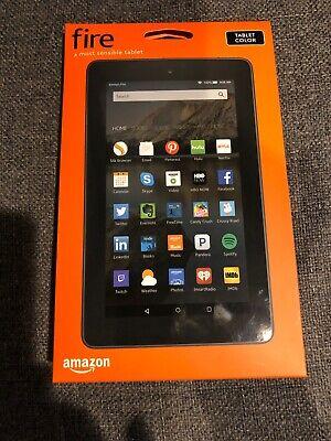 Amazon Fire Tablet 5th Generation 8GB, Wi-Fi, 7in display - Black Quad Core NEW