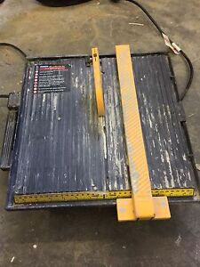 Tile cutter***Price reduced***