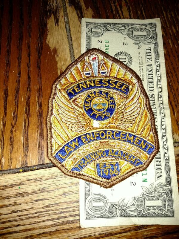 Tennessee Law Enforcement Training Academy Police Patch New Old Stock