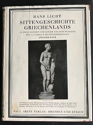 Sittengeschichte Griechenlands Band II, Hans Licht,