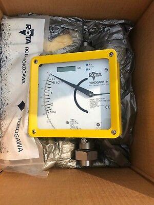 Yokogawa Rota Rotameter Flowmeter Ramc01-t4ss-53s1 - New Old Stock Flow Meter