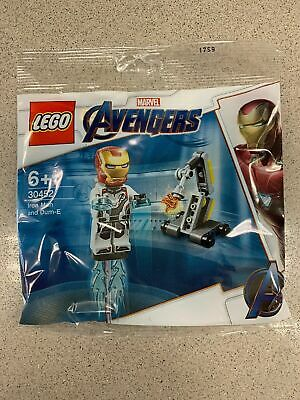 LEGO MARVEL 30452 Avengers Iron Man & Dum-E - Polybag - BNIP - Sealed - New - V2