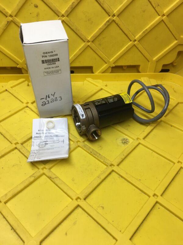 Gems Sensors 156269 RSF-2500 RotoFlow Flow Sensor, New