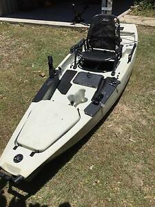 Hobie Mirage Pro Angler 12 pedal-powered kayak with extras Agnes Water Gladstone Area Preview