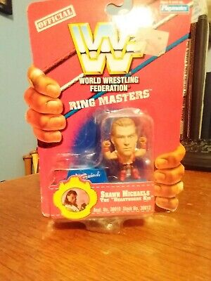 Shawn Michaels WWF Ring Masters Wrestling Figure WWE 1997 Playmates
