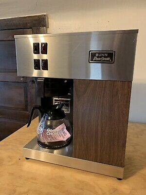 Beautiful Vintage Bunn Pour-omatic Vpr Commercial Coffee Maker Tested