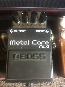 Boss ML-2 Metal Core Pedal Shailer Park Logan Area Preview