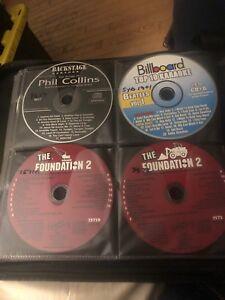Huge Karaoke Disk Collection over 1700 Songs 92 Disks