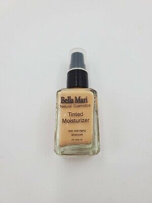 Bella Mari Natural Cosmetics Tinted Moisturizer Medium Warm VEGAN 30 Fluid ml