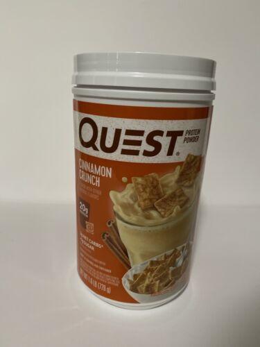 cinnamon crunch protein powder high protein low