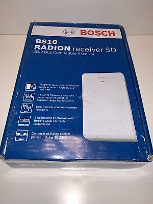 Bosch B810 Security Wireless Radion Receiver Sd Free Shipping