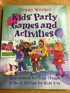 Kids Party Games & TV Free Activities - 2 Books
