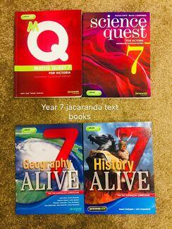 Year 7 year 8 year 9 text books