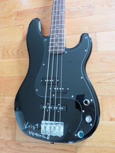 Krist Novoselic signed guitar coa + Exact Proof! bass Nirvana Nevermind auto
