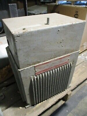 Ge Type Qm Transformer 9t21b9105 15kva Pri 480v Sec 120240v 60hz Used