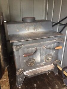 Large Conestoga wood stove.