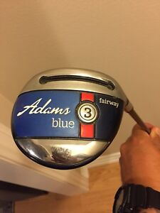 Adams blue fairway and hybrid
