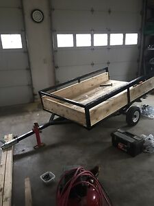 4.5'x7.5' heavy duty utility trailer