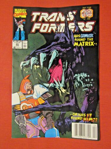 Transformers #65 (Marvel 1990) near high grade
