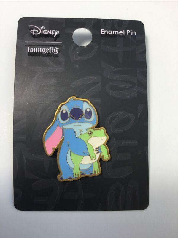 Loungefly Disney Stitch Frog Collectible Trading Pin