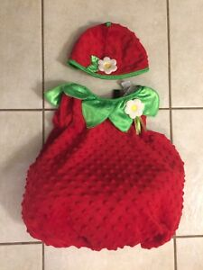 12-18 month Baby Strawberry Costume