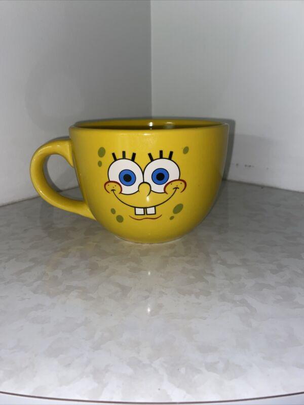 Oversized Sponge Bob Squarepants Mug, 2012, Viacom, Nickelodeon VG