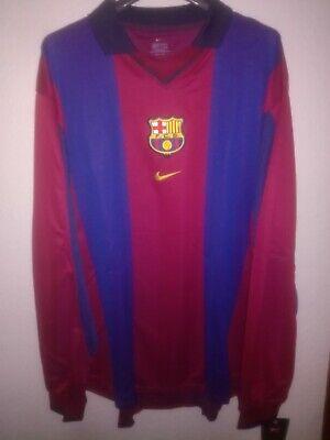 FC BARCELONA 2000-2001 BNWT camiseta shirt trikot maillot maglia nike