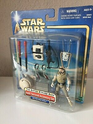 HOTH SURVIVAL ACCESSORY SET WITH HOTH REBEL SOLDIER - STAR WARS -...