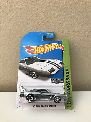 2014 Hot Wheels Zamac '69 Dodge Charger Daytona #234/250 FREE SHIPPING !!