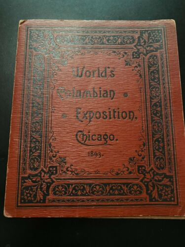 1893 Chicago Columbian Exposition Photo Album