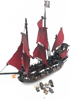 Lego Pirates Of The Caribbean Queen Anne's Revenge (4195) 98% Complete
