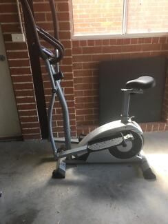 Elliptical exercise bike
