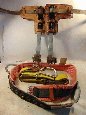 Buckingham Adjustable Steel Poletree Climbing Spursspikesgaffs Kit