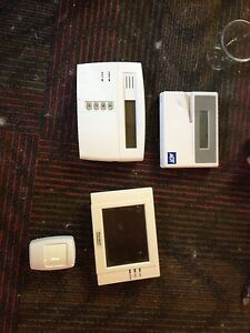 Security System Panels and motion sensor