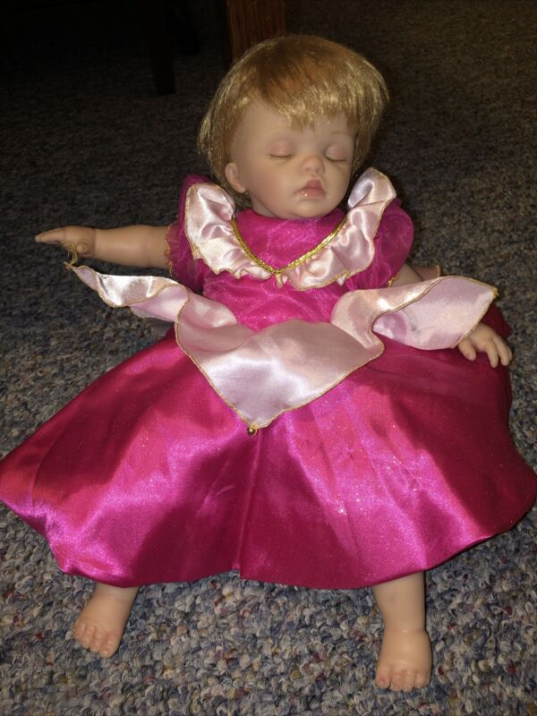 Cheryl Hill Aurora Outfit Disney Doll Music Motion Silicone Life Like