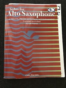 Solos for Alto Saxophone: 41 Recital Pieces with Piano Accompaniment Surry Hills Inner Sydney Preview