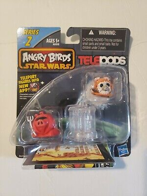 ANGRY BIRDS STAR WARS Ewok Wicket Warrick and Royal Guard Series 2 TELEPODS