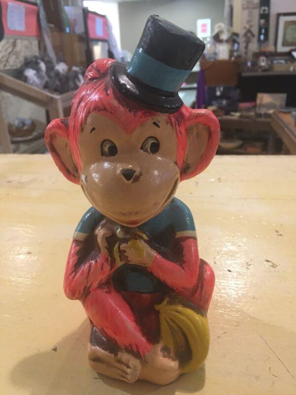 Vintage 1968 Japan Monkey Bank Retro