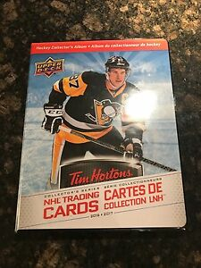 2016 Tim Hortons NHL hockey card set