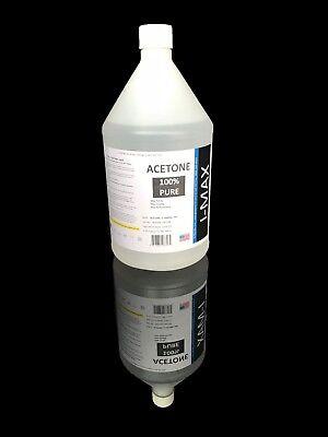 Acetone Nail Polish - 1 GALLON of PURE Acetone, Nail Polish Remover, 128 oz (4 quarts), FREE SHIPPING