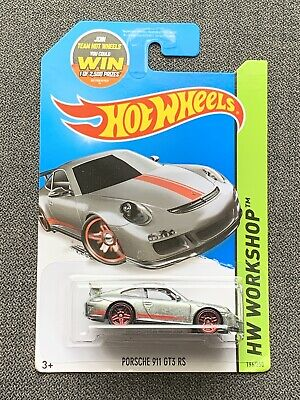 HOT WHEELS 2015 HW WORKSHOP PORSCHE 911 GT3 RS ZAMAC WALMART EXCLUSIVE