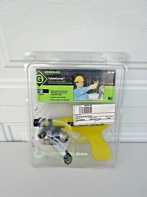 Greenlee 06186 Cable Caster Wire Wiring Pulling Puller Tool W 1 Dart Used