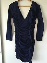 Navy Blue Bunched Dress Haberfield Ashfield Area Preview