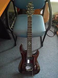 Schecter Damien Elite 7 Floyd Rose Immaculate Condition Hoppers Crossing Wyndham Area Preview