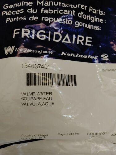 Genuine OEM Frigidaire Water Inlet Valve 154637401 New In Ba