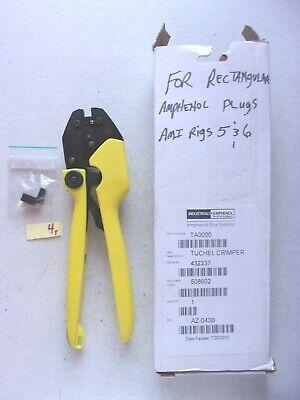New In Box Amphenol Tuchel Crimper Ta0000 230