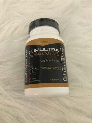 Lumultra Brain Oil 60 Softgels Exp 10/21