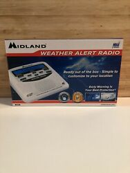 Midland Emergency Weather Alert Radio with Alarm Clock WR-120B